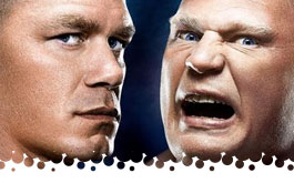 Cena vs. Lesnar