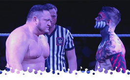 Finn Balor vs Samoa Joe