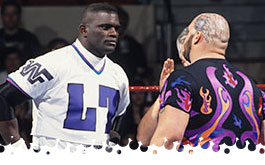 Lawrence Taylor vs. Bam Bam Bigelow