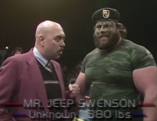 Jeep Swenson and Gary Hart