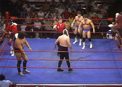 Sportatorium crowd